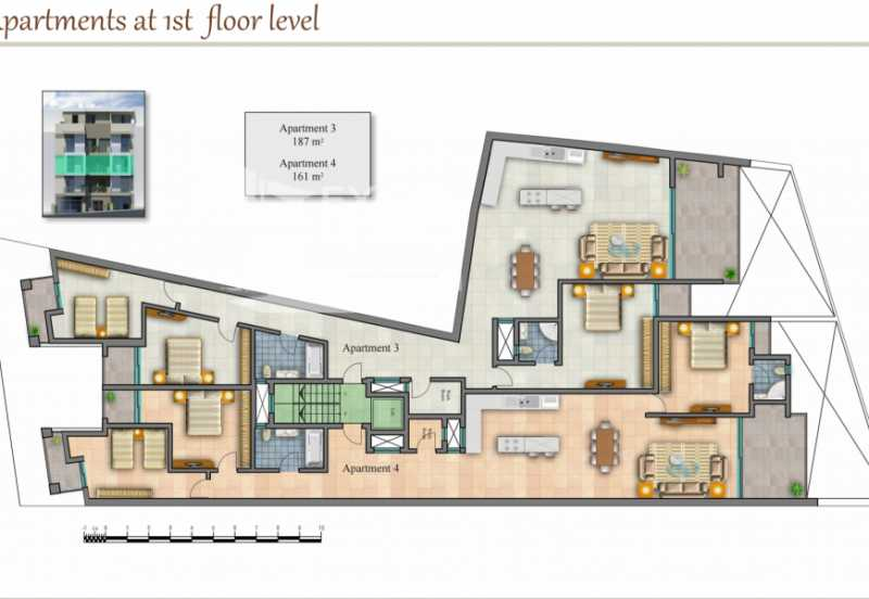 Apartment 3 Bedrooms Gharghur For Sale