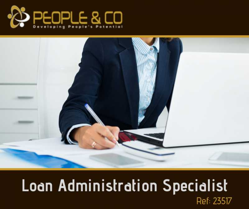 German Speaking Loan Admin Specialist
