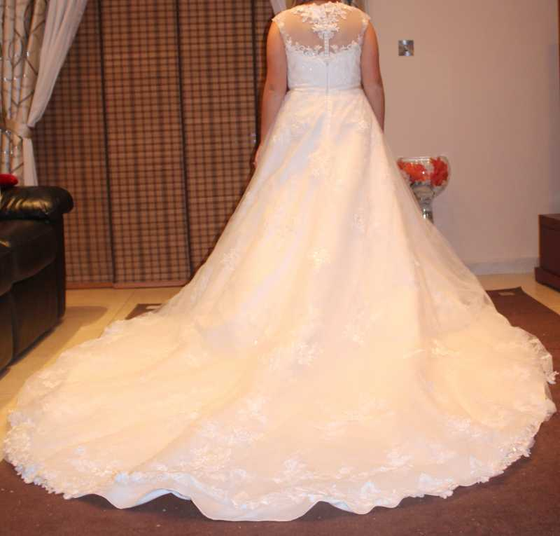Designer Aline Wedding Dress