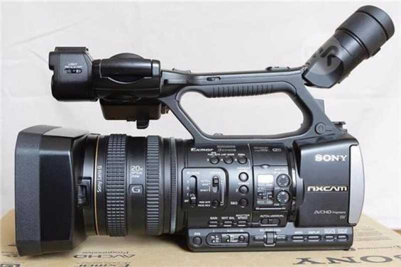Sony Hxr Nx3 Professional Camcorder.