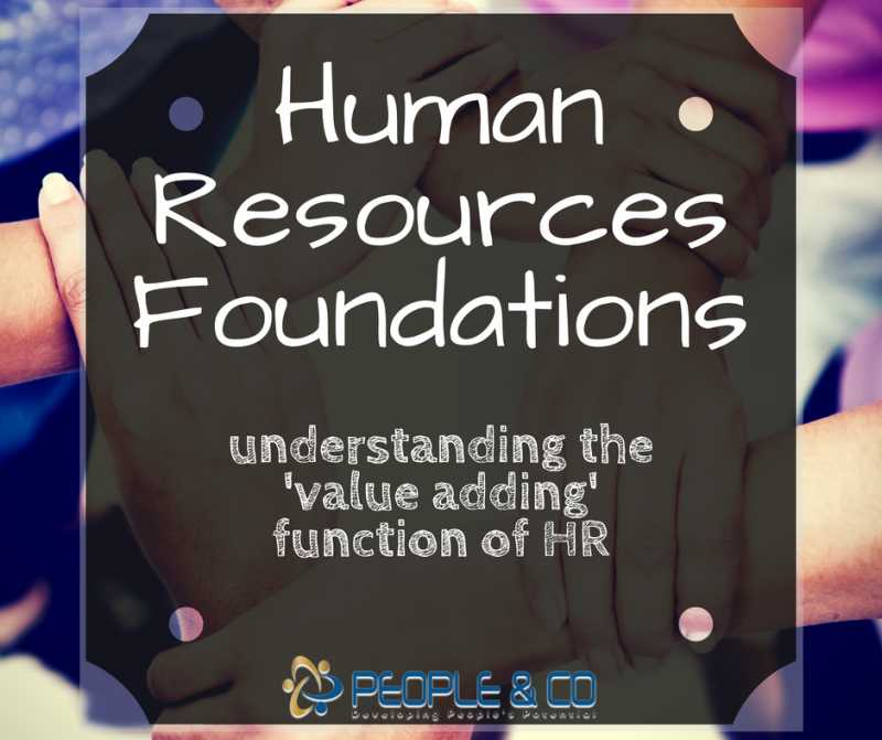 Human Resources Foundations