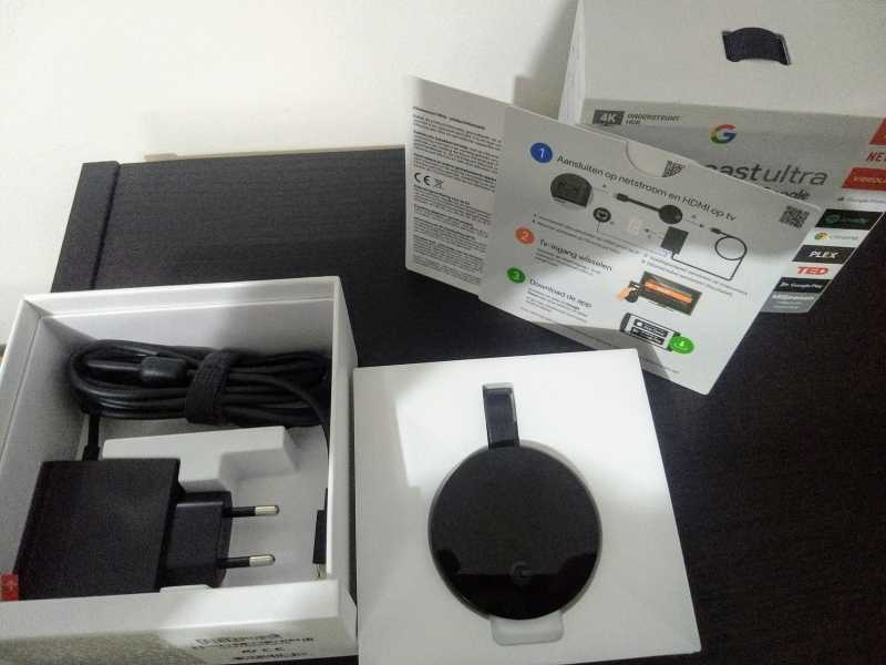 Chromecast Ultra 4k / Brand-new