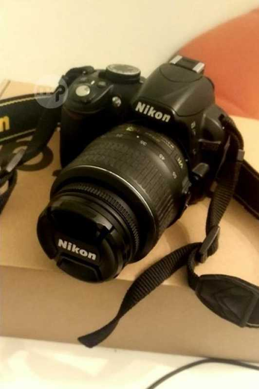 Nikon D3100 + 18-55mm Lens + Bat + Bag