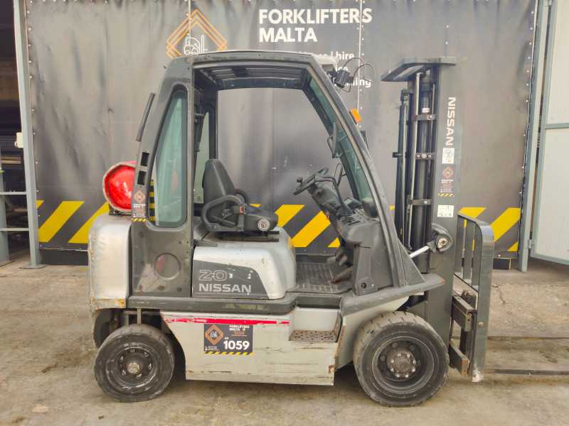 2010 Nissan Forklifters Uid2a20lq