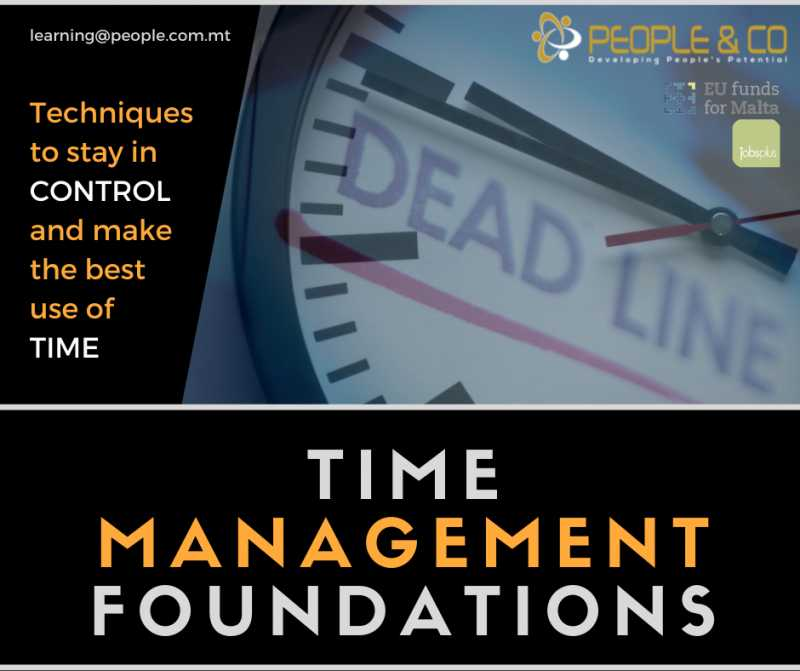 Time Management Foundations [online]