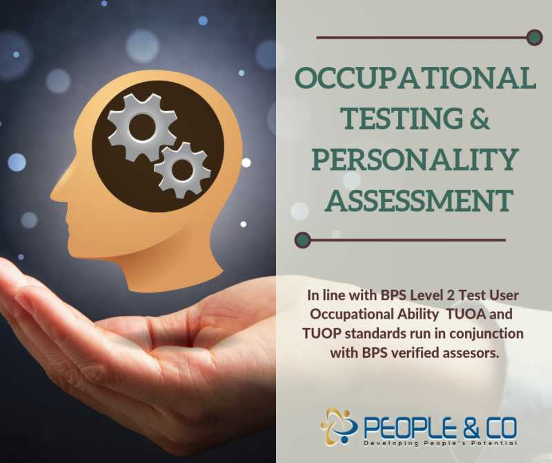 Occupational Testing & Personality As13