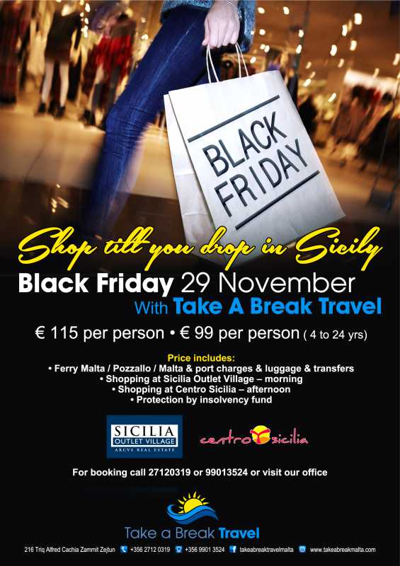 Black Friday Sales In Sicily