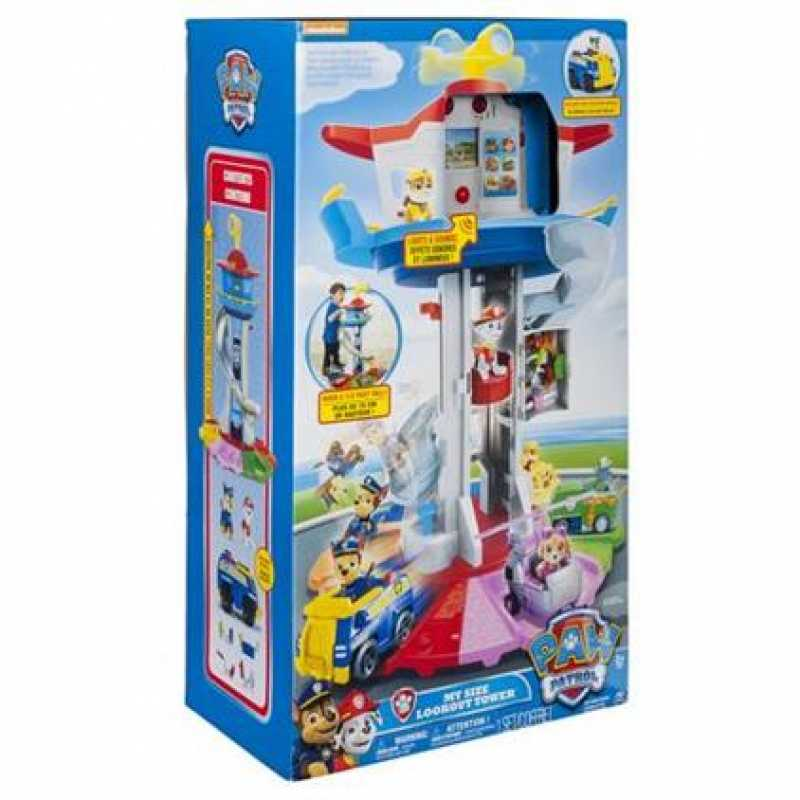 New Paw Patrol My Size Look Out Tower