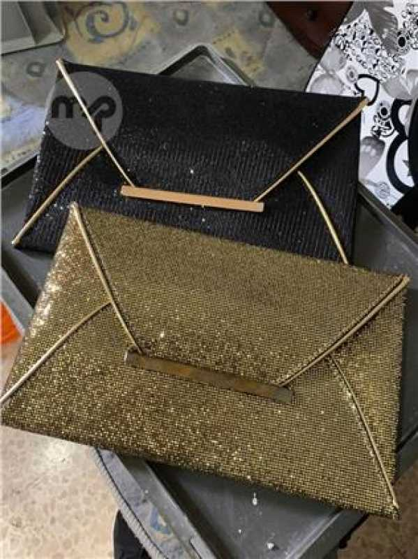 Clutch Bags Gold And Black Both 10 Euros