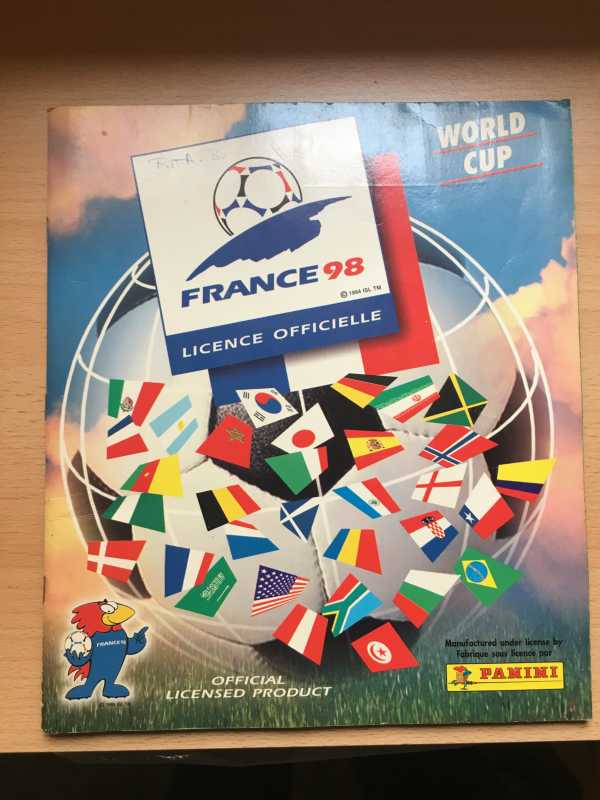 Panini World Cup Euro Calciatori
