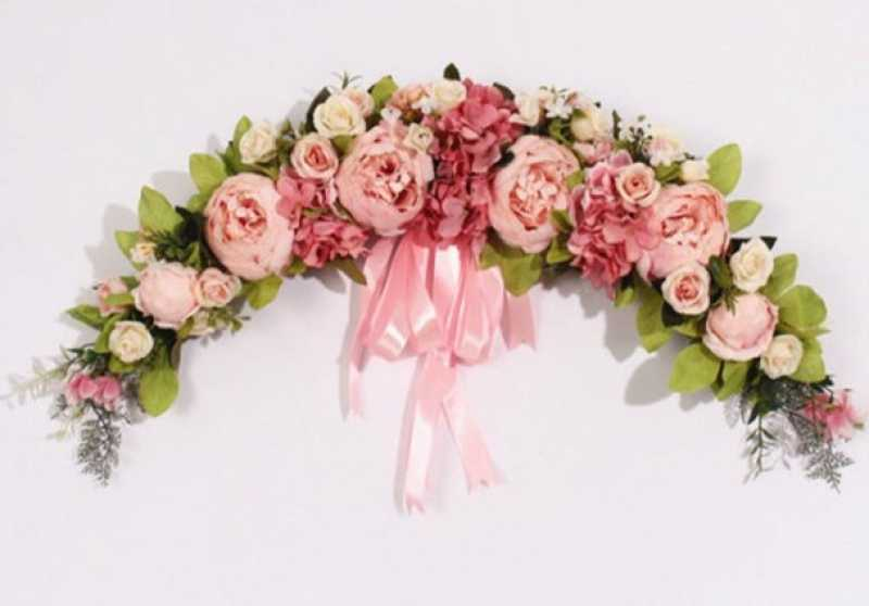 Wedding Door Wreath
