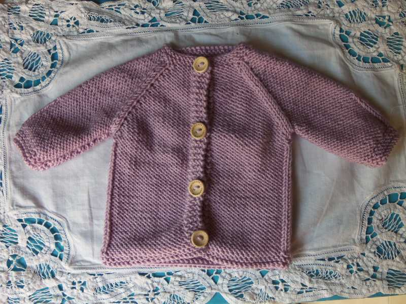 Hand Knitted Baby Cardigans